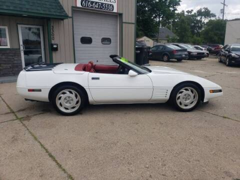 1992 Chevrolet Corvette for sale at H & L AUTO SALES LLC in Wyoming MI
