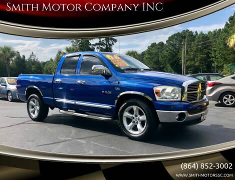 2008 Dodge Ram Pickup 1500 for sale at Smith Motor Company INC in Mc Cormick SC
