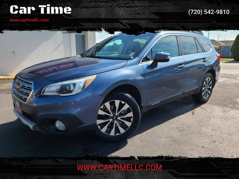 2016 Subaru Outback for sale at Car Time in Denver CO
