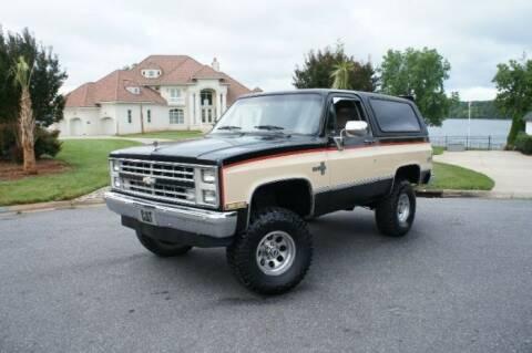 1987 Chevrolet Blazer for sale at Classic Car Deals in Cadillac MI