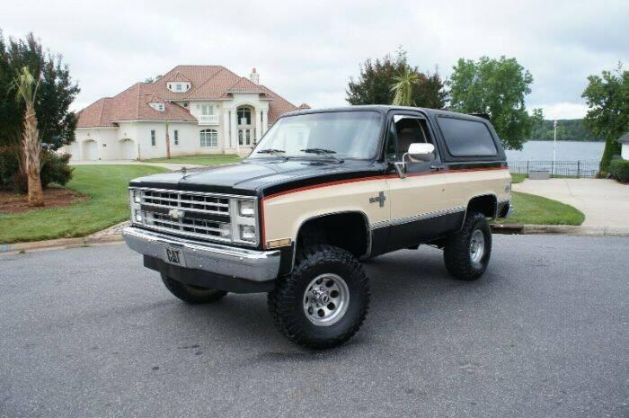 1987 Chevrolet Blazer for sale in Cadillac, MI