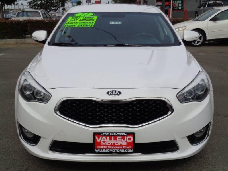 2014 Kia Cadenza for sale at Vallejo Motors in Vallejo CA