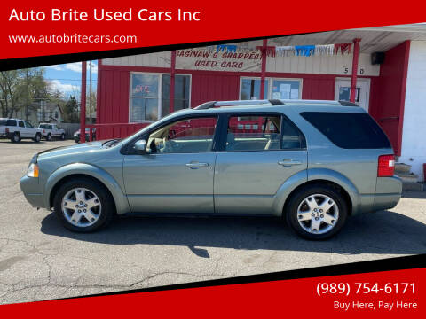 2006 Ford Freestyle for sale at Auto Brite Used Cars Inc in Saginaw MI