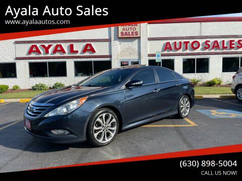 2014 Hyundai Sonata for sale at Ayala Auto Sales in Aurora IL
