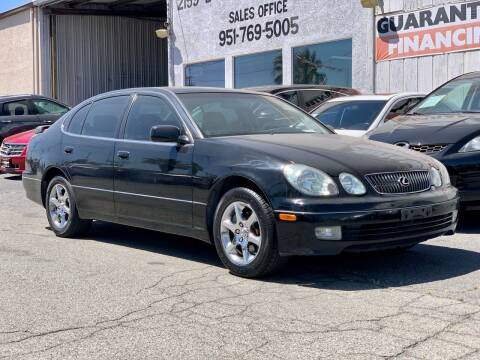 2005 Lexus GS 300 for sale at Auto Source in Banning CA