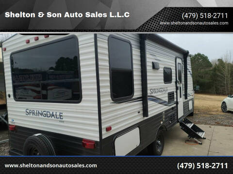 2021 Springdale mini Keystone for sale at Shelton & Son Auto Sales L.L.C in Dover AR