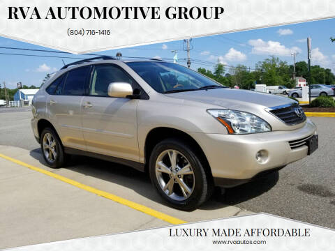 2007 Lexus RX 400h for sale at RVA Automotive Group in North Chesterfield VA