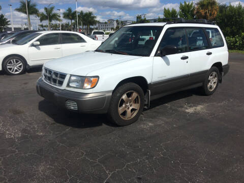2000 Subaru Forester for sale at CAR-RIGHT AUTO SALES INC in Naples FL