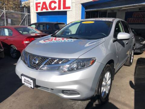 2012 Nissan Murano for sale at DEALS ON WHEELS in Newark NJ