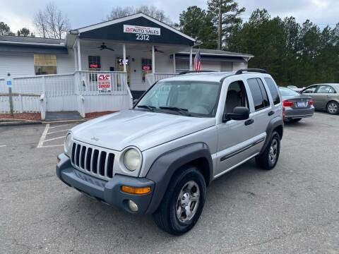 2003 Jeep Liberty for sale at CVC AUTO SALES in Durham NC