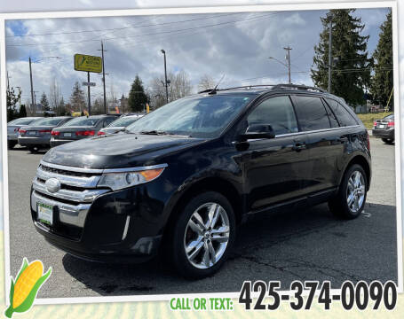 2012 Ford Edge for sale at Corn Motors in Everett WA