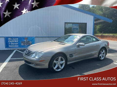 2005 Mercedes-Benz SL-Class for sale at First Class Autos in Maiden NC