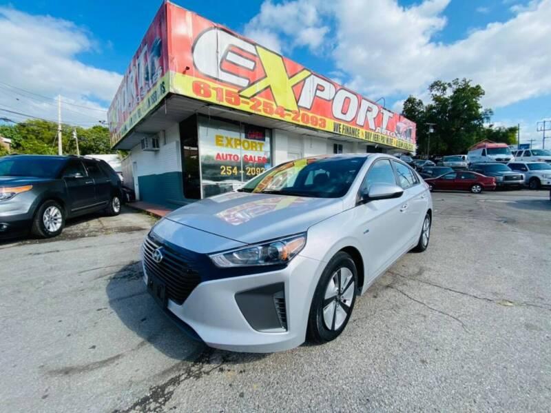 2018 Hyundai Ioniq Hybrid for sale at EXPORT AUTO SALES, INC. in Nashville TN