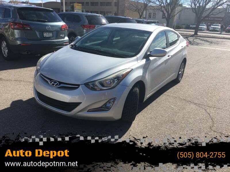 2014 Hyundai Elantra for sale at Auto Depot in Albuquerque NM
