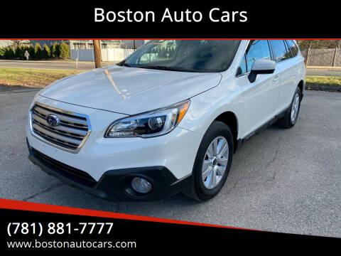 2016 Subaru Outback for sale at Boston Auto Cars in Dedham MA