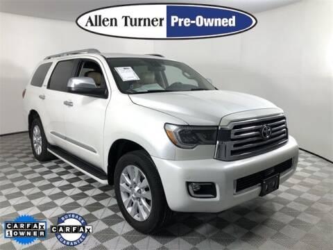 2018 Toyota Sequoia for sale at Allen Turner Hyundai in Pensacola FL