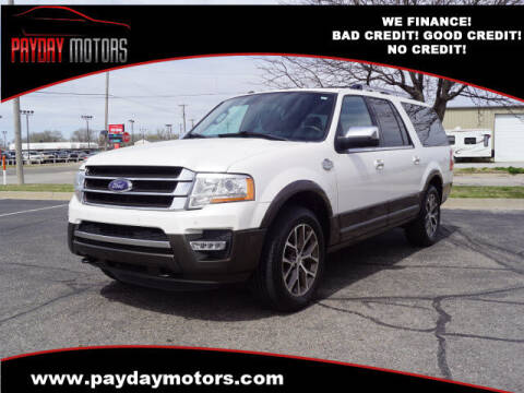 2017 Ford Expedition EL for sale at Payday Motors in Wichita And Topeka KS