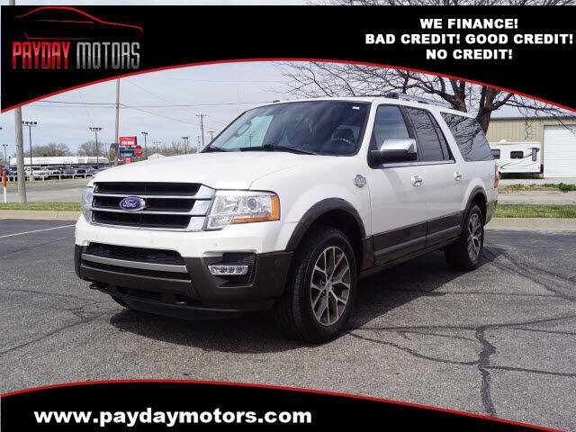 2017 Ford Expedition EL for sale at Payday Motors in Wichita KS