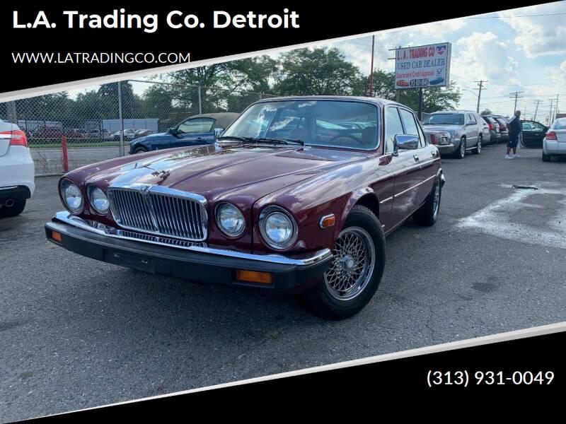 1987 Jaguar XJ-Series for sale at L.A. Trading Co. Detroit in Detroit MI