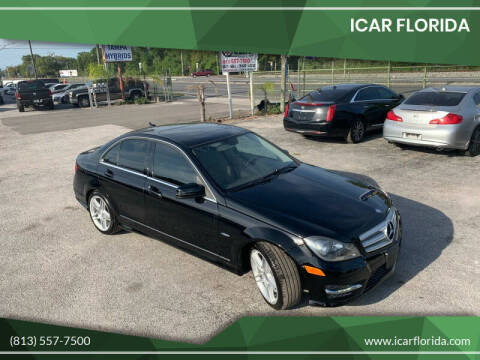 2012 Mercedes-Benz C-Class for sale at ICar Florida in Lutz FL