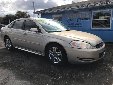 2011 Chevrolet Impala for sale at The Peoples Car Company in Jacksonville FL