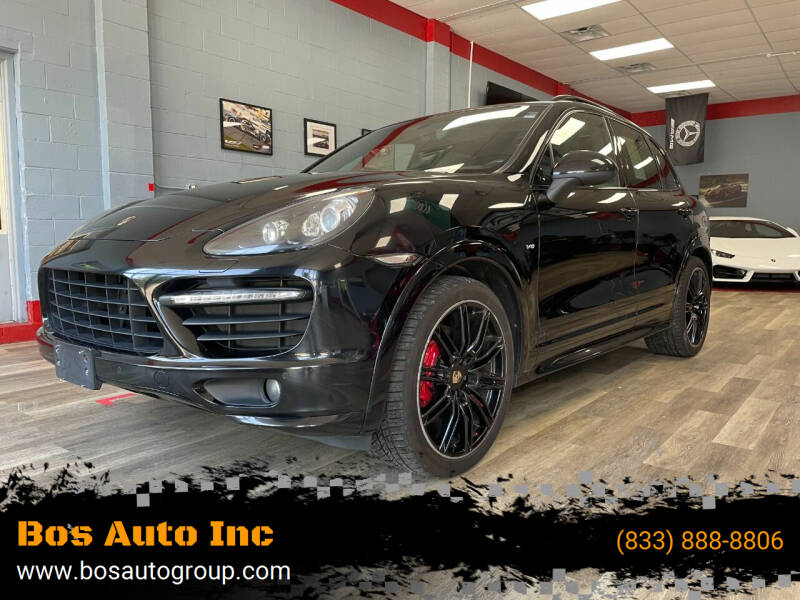 2013 Porsche Cayenne for sale at Bos Auto Inc in Quincy MA