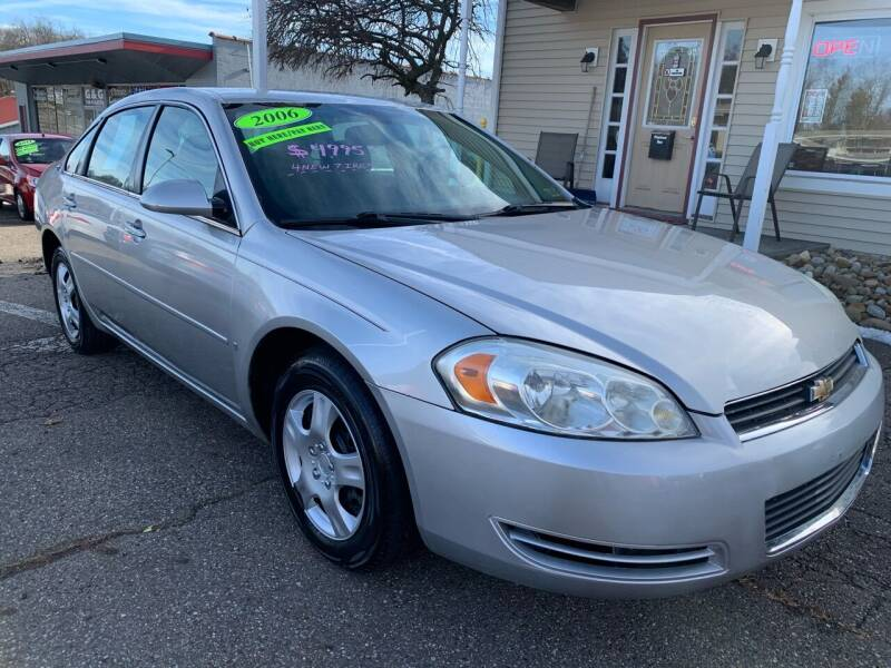2006 Chevrolet Impala for sale at G & G Auto Sales in Steubenville OH