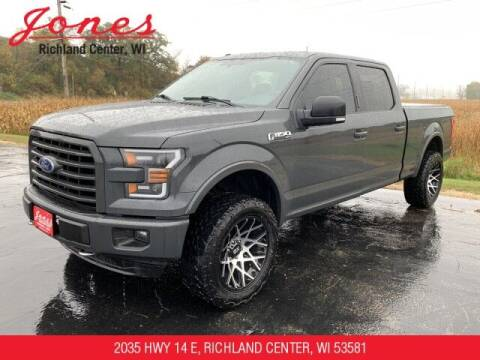 2016 Ford F-150 for sale at Jones Chevrolet Buick Cadillac in Richland Center WI