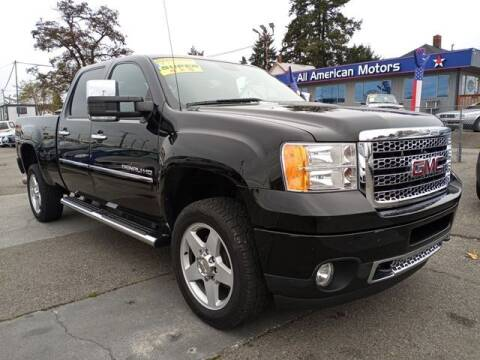 2011 GMC Sierra 2500HD for sale at All American Motors in Tacoma WA