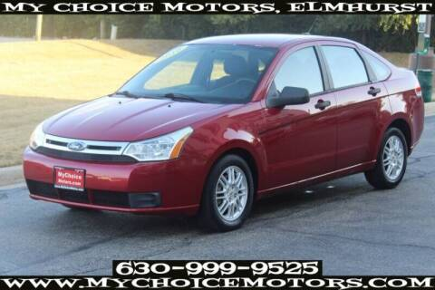 2010 Ford Focus for sale at My Choice Motors Elmhurst in Elmhurst IL