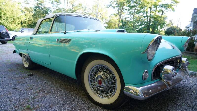 1955 Ford Thunderbird for sale at Fiore Motors, Inc.  dba Fiore Motor Classics in Old Bethpage NY
