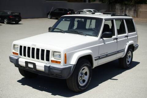 2001 Jeep Cherokee for sale at Sports Plus Motor Group LLC in Sunnyvale CA