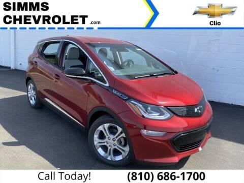 2021 Chevrolet Bolt EV for sale at Aaron Adams @ Simms Chevrolet in Clio MI