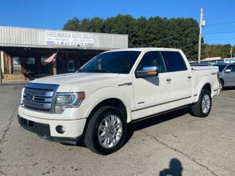 2013 Ford F-150 for sale at Greenbrier Auto Sales in Greenbrier AR
