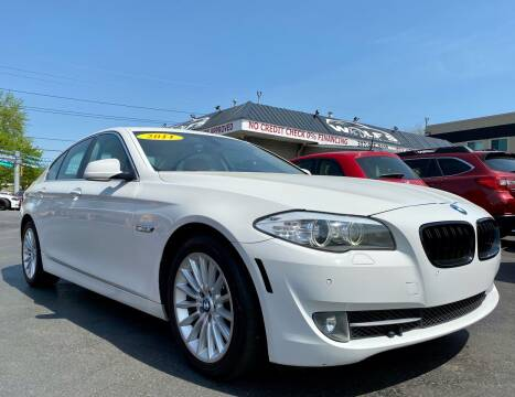 2011 BMW 5 Series for sale at WOLF'S ELITE AUTOS in Wilmington DE