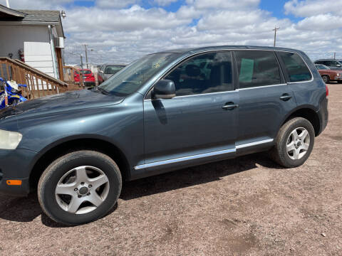 2006 Volkswagen Touareg for sale at PYRAMID MOTORS - Fountain Lot in Fountain CO
