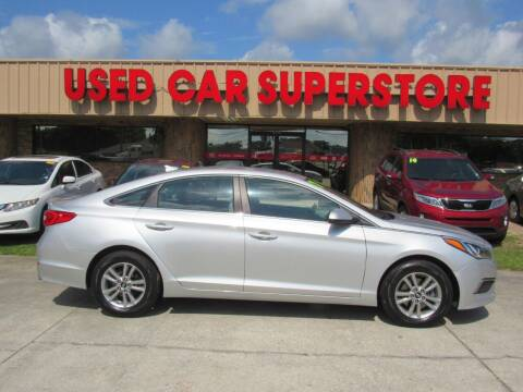2017 Hyundai Sonata for sale at Checkered Flag Auto Sales NORTH in Lakeland FL