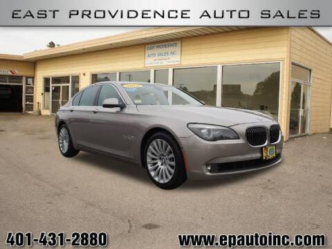 2012 BMW 7 Series for sale at East Providence Auto Sales in East Providence RI