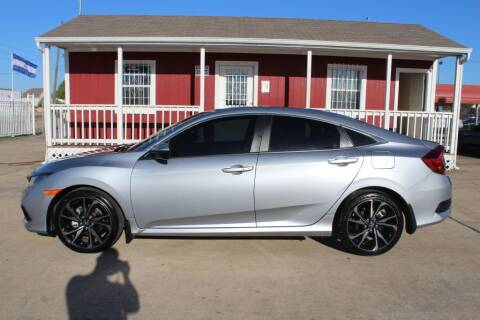 2019 Honda Civic for sale at AMT AUTO SALES LLC in Houston TX