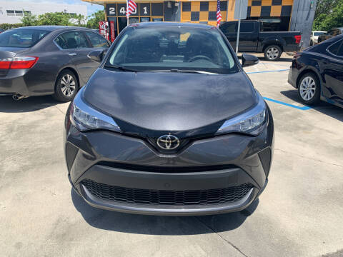 2021 Toyota C-HR for sale at Dulux Auto Sales Inc & Car Rental in Hollywood FL