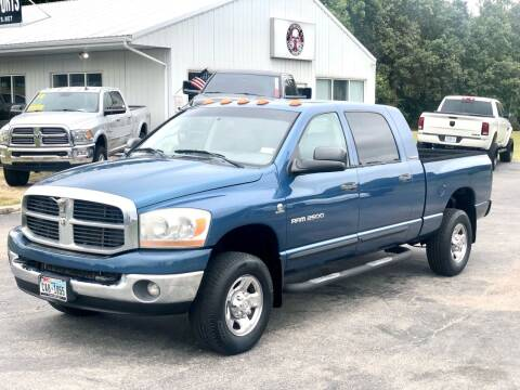 2006 Dodge Ram Pickup 2500 for sale at Torque Motorsports in Rolla MO