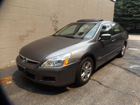 2007 Honda Accord for sale at Wayland Automotive in Wayland MA