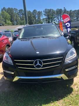 2012 Mercedes-Benz M-Class for sale at Gralin Hampton Auto Sales in Summerville SC