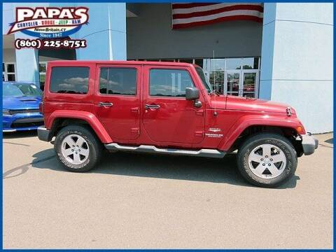2011 Jeep Wrangler Unlimited for sale at Papas Chrysler Dodge Jeep Ram in New Britain CT