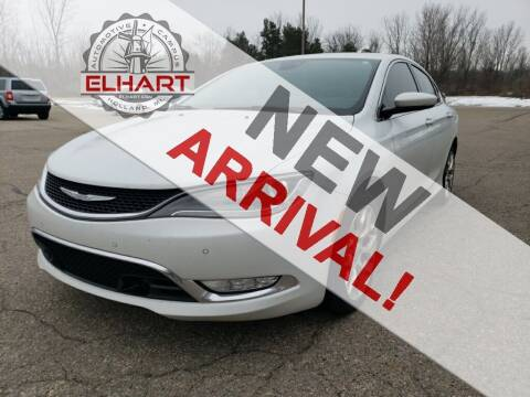 2015 Chrysler 200 for sale at Elhart Automotive Campus in Holland MI