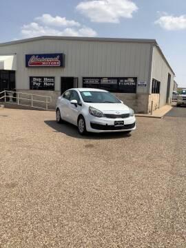 2016 Kia Rio for sale at Chaparral Motors in Lubbock TX