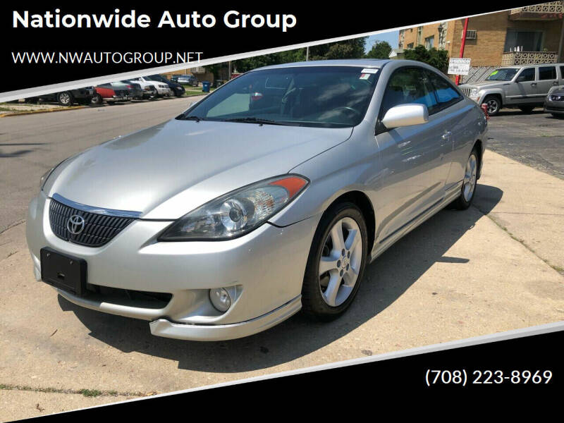 2004 Toyota Camry Solara for sale at Nationwide Auto Group in Melrose Park IL
