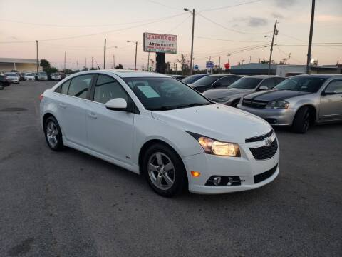 2013 Chevrolet Cruze for sale at Jamrock Auto Sales of Panama City in Panama City FL
