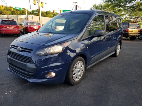 2015 Ford Transit Connect Cargo for sale at Cedar Auto Group LLC in Akron OH