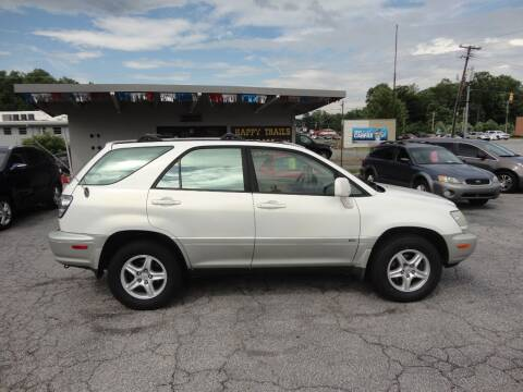 2002 Lexus RX 300 for sale at HAPPY TRAILS AUTO SALES LLC in Taylors SC